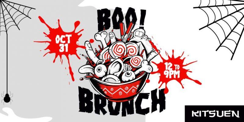 BOO BRUNCH! Halloween Brunch & Day Party At Kitsuen