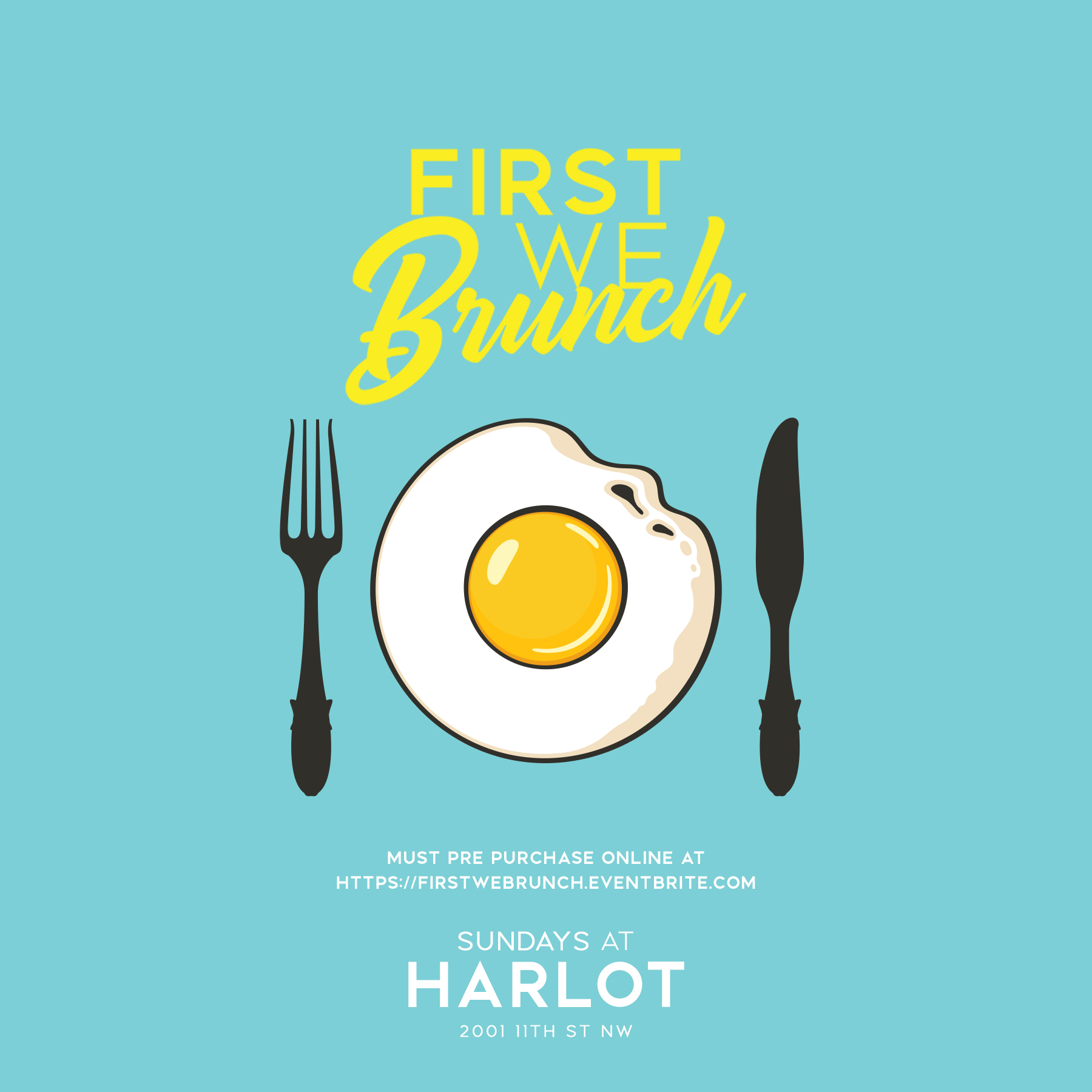 First We Brunch At Harlot DC